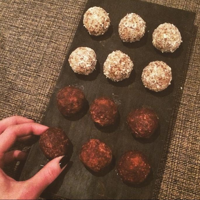 Cacoa energy balls