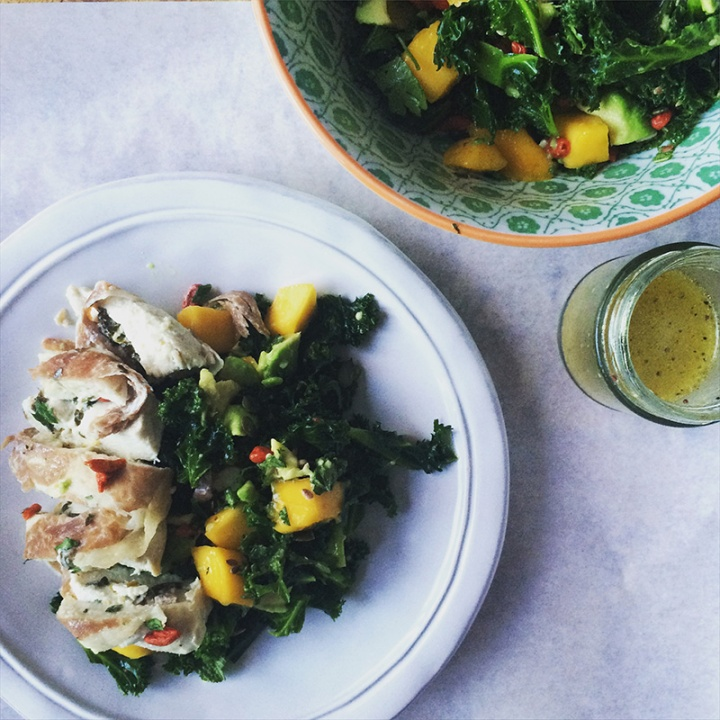 Chicken Kale Salad